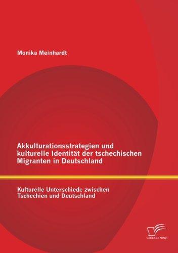 Akkulturationsstrategien und kulturelle Identität der tschechischen Migranten in Deutschland: Kulturelle Unterschiede zwischen Tschechien und Deutschland