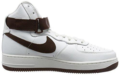 Nike Hypervenomx Phelon Iii Df Tf, Scarpe da Calcio Uomo White / Brown (Summit White/Choc)