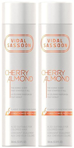 Vidal Sassoon Classic Clean Conditioner - Cherry Almond - 12.9 oz - 2 pk by Vidal Sassoon