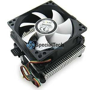 Gelid CC-SIBERIAN-01 - Ventilador de CPU (900 - 2200 rpm), negro