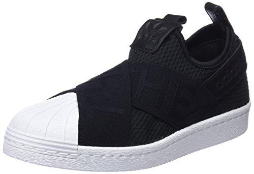 Adidas Kvinders Superstjerne Slipon W, CSort / CSort / Ftwwht CSort / CSort / Ftwwht