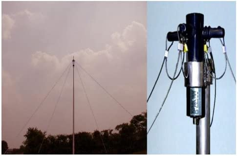 Antena dipolo cruzado cobertura permanente, 1, 8-30 MHz, cat ...