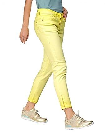 BOGNER Jeans Jeans - Femme Jaune jaune  Amazon.fr  Vêtements et ... 6d07f13ed4d