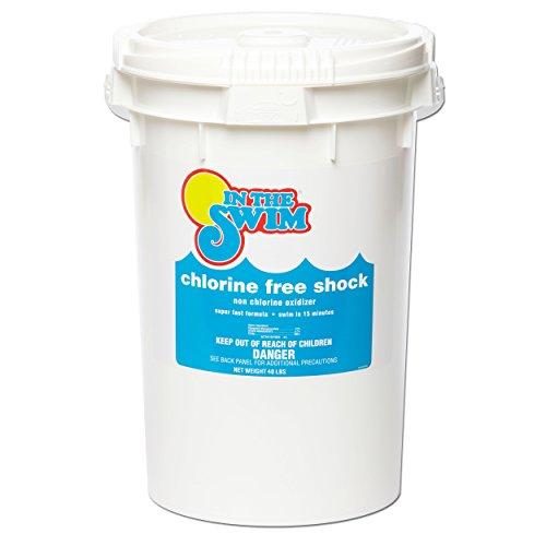 In The Swim Chlorine-Free Pool Swimming Pool Shock - 40 Pounds