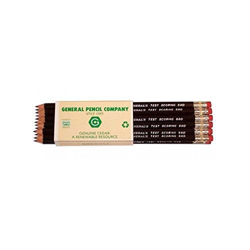 General Test Scoring Pencil Carton/144 by Hyatt's