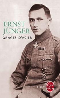 Orages d'acier par Jünger