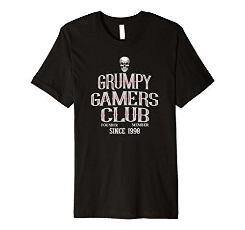 Mens Grumpy Gamers Club Cool Gaming Shirt - 1998 2XL - Gamerstyle