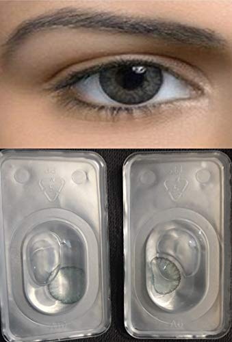 Color Change Pair Green No Label (Wolf Contact Lenses)
