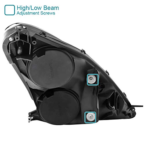 Spec-D Tuning LHP-CEL00-RS Chrome Projector Headlight With Led Dry