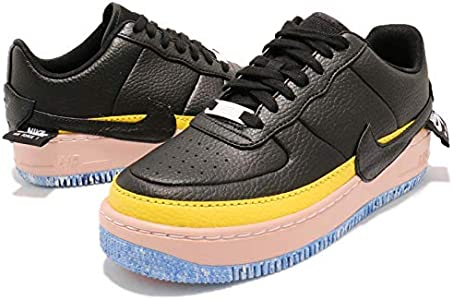nike air force 1 jester black sonic yellow