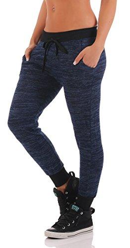 cleostyle - Pantalón - para mujer Azul Oscuro