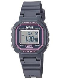 "Casio ""Classic"" - Reloj de cuarzo para mujer, resina, color gris (modelo: LA-20WH-8ACF)"