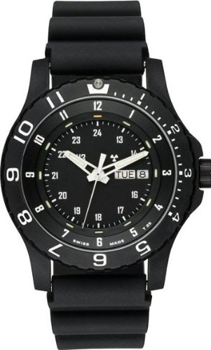 Mens Watch Traser H3 P660091F1301 Military Black Resin And Titanium Military Rub