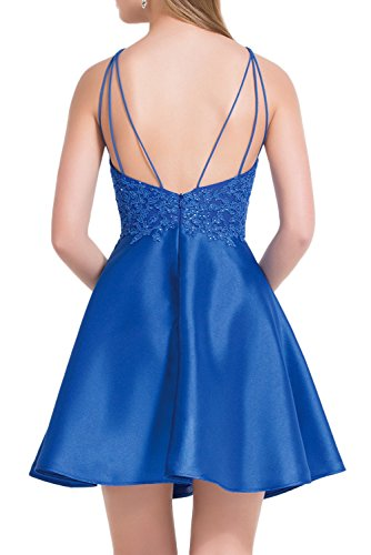 Missdressy - Vestido - trapecio - para mujer morado 52