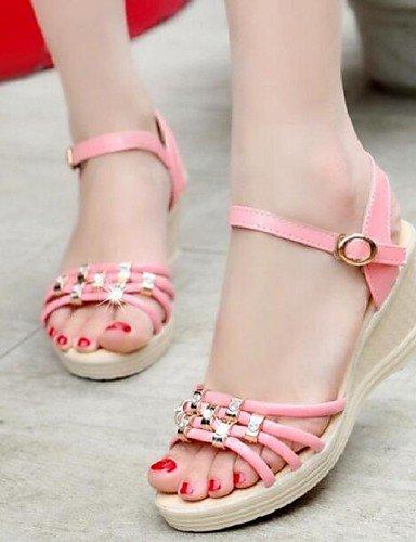 c91fb86711a3db ShangYi Sandaletten für Damen Damenschuhe - Sandalen - Büro   Kleid -  Kunstleder - Keilabsatz -