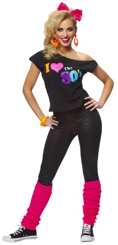 I Love The 80's T-Shirt (Black)