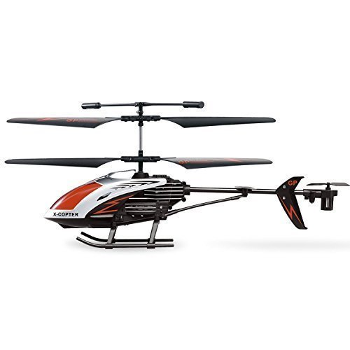 GPTOYS 11″ Durant Infrared Remote Control Helicopter G610 3 Channel with Gyro RC Crash Toys