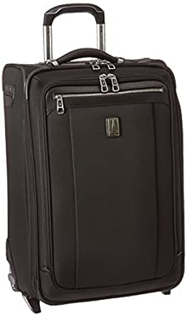 Travelpro Platinum Magna 2 22 Inch Express Rollaboard Suitcase, Black, One Size