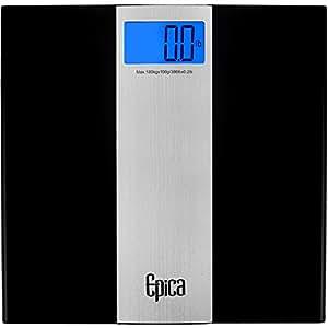 Omega Ultra Slim Digital Bathroom Scale 400 Lb Capacity Sense On Technology Beauty