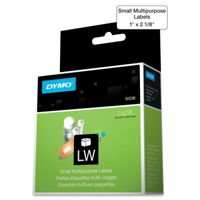 Labels Multi 30336 Purpose (DYMO 30336 Multipurpose Labels, 1 x 2 1/8, White, 500/Box by DYMO)