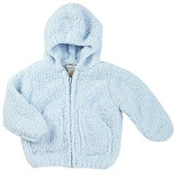 Angel Dear Unisex Child Fleece Zip Hoodie - Light Blue - 2T