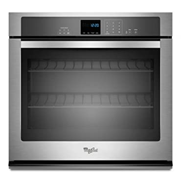 Whirlpool WOS51EC0AS 30 Stainless Steel Electric Single Wall Oven