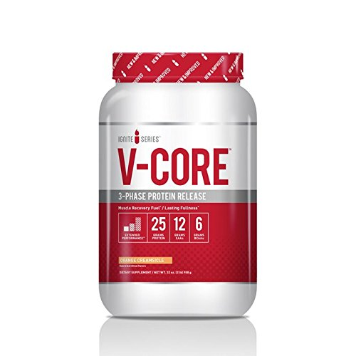 Complete Nutrition Ignite V-Core Dietary Protein Supplement (2 pound, Orange Creamsicle) (Complete Nutrition Whey Protein)