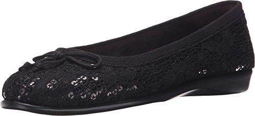 Black Sequin Flat - 7