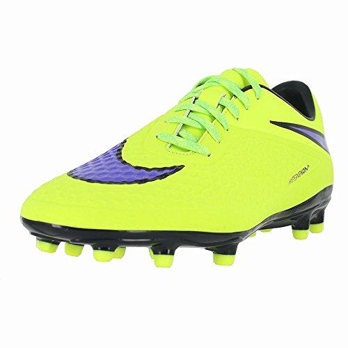Nike Hypervenom Phelon Fg Voetbalcleats (volt / Hot Lava / Perzisch Violet)