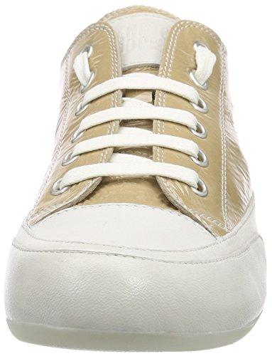 Candice Cooper Rock.Vernice.Reflex, Baskets Basses Femme Beige - Beige