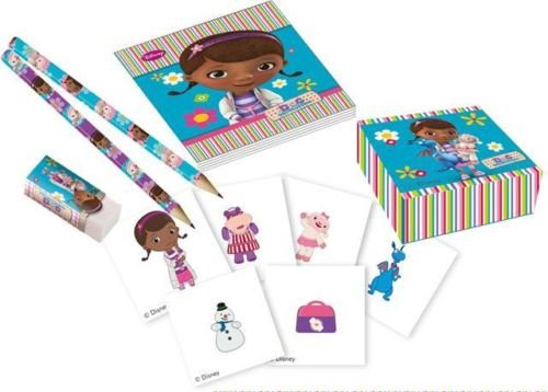Doc McStuffins Birthday Party 16 Piece Stationary Pack