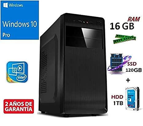 PC Ordenador SOBREMESA Intel Core I7-8700 HEXACORE 6X 4.60GHz 12M ...