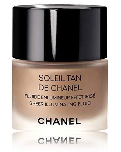 Sun Face Palette - NIB SOLEIL TAN DE C H A N E L Sheer Illuminating Fluid Color: Sunkissed New Look!
