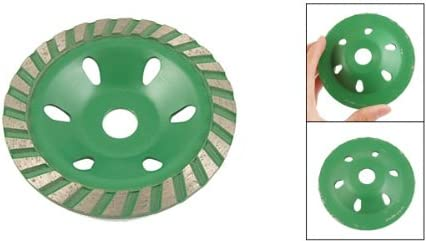 Uxcell 100Mm Polishing Ceramic Concrete Grinding Disc Grn Gray