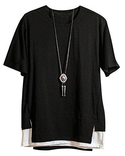 テレックス唇ポルノFashspo tシャツ メンズ ファッション カジュアル シンプル 半袖トップス 夏 通勤通学 ゆったり 快適 大きいサイズ有り 全3色展開