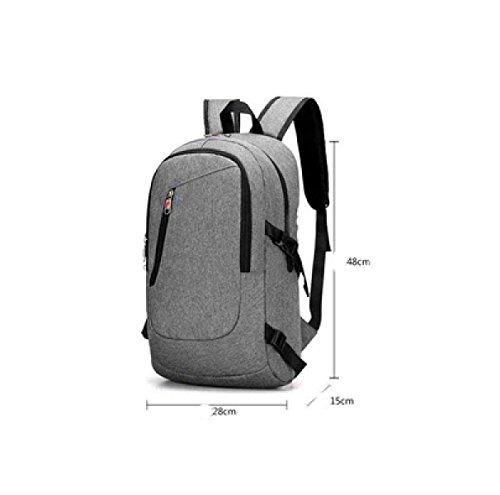 Multi Travel Leisure Black Package Shoulder Business Laidaye Backpack purpose q6IFx