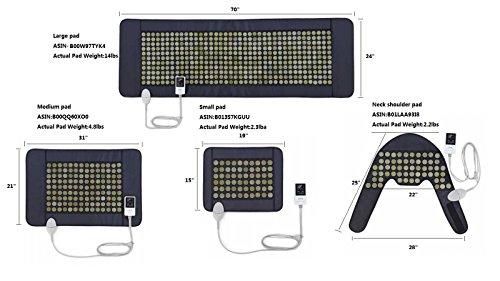 UTK® Far Infrared Natural Jade Heating Pad for pain relief,Medium(21''x31'') by UTK (Image #5)'
