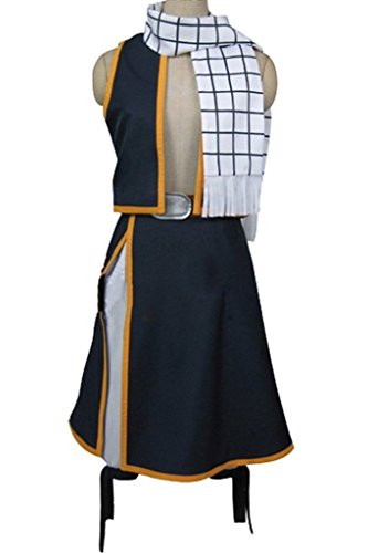 [Fairy Tail Natsu Dragneel Cosplay Costume] (Fedex Man Costume)