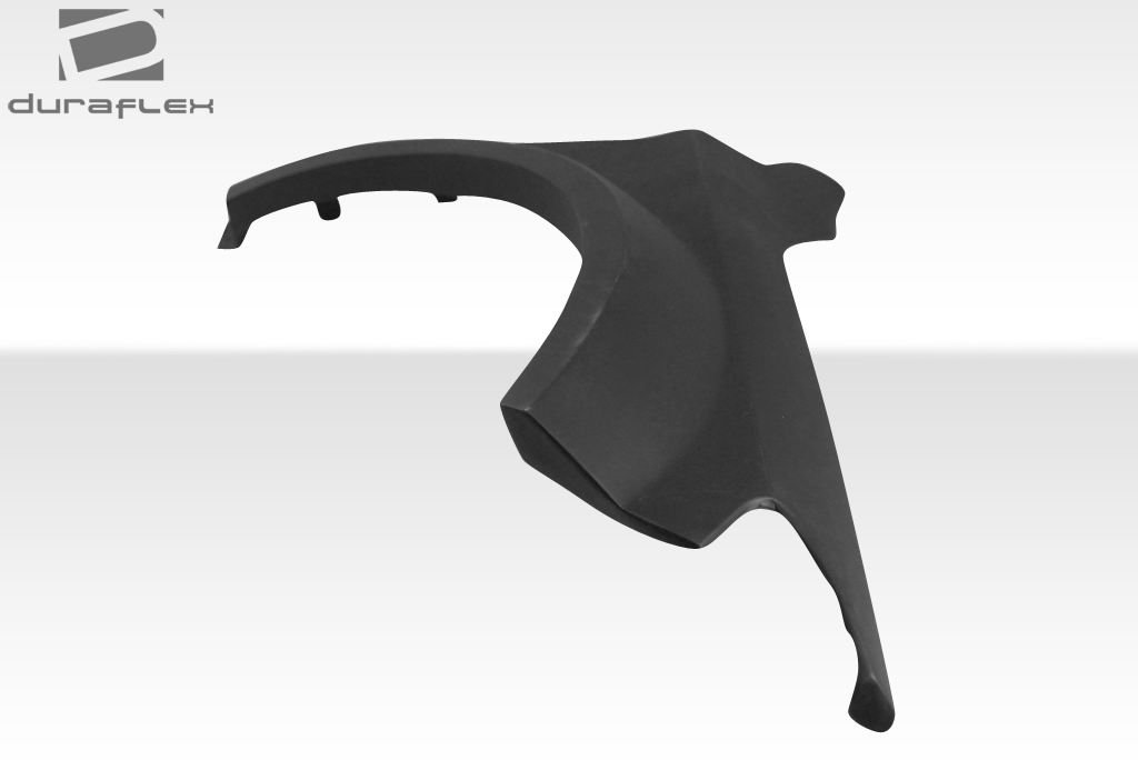 Duraflex Replacement for 2014-2015 Mercedes CLA Class Black Series Look Wide Body Front Fenders - 2 Piece by Duraflex (Image #7)