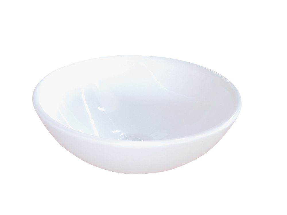 Kingston Brass EV4030 Fauceture Serene Vitreous China Bathroom Vessel , White
