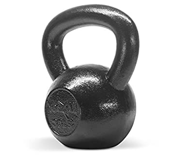 Kettlebell 35 lbs Hand Weight Fitness Body Training Exercise Cap Gym :New by WW shop