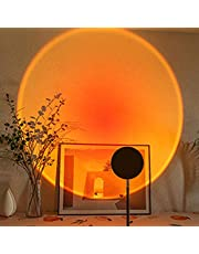Sunset Projection Led Light,180 Degree Rotation Rainbow Projection Lamp,Night Light Projector Led Lamp,Romantic Projector for Home Party Living Room Bedroom Decor