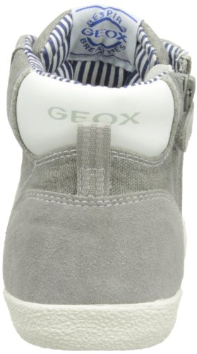 Geox Jr Kiwi Boy B - Zapatillas altas Niños Gris