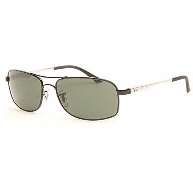 749c12e0e3 Ray-Ban 3484 002 002 Black 3484 Sunglasses Size 60  Amazon.co.uk  Clothing
