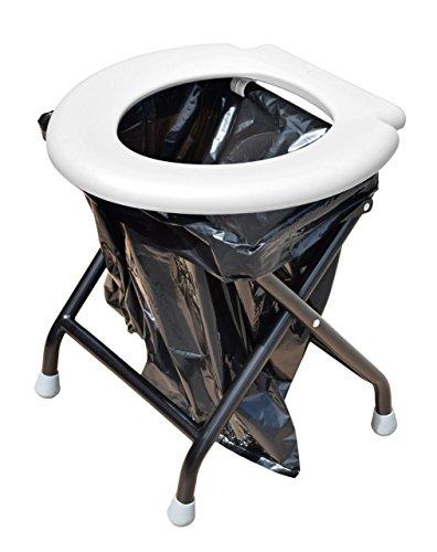 41KM2q85%2BoL YACHTICON Mobile Klapptoilette Falttoilette Campingtoilette Toilette WC Festival Wohnwagen Reise