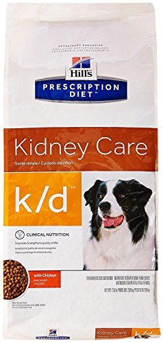 Hills K/D Renal Health Dog Food 17.6 lb