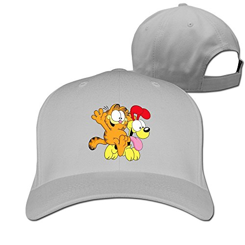 - Unisex Customized Adjustable Garfield And Odie Peaked Baseball Hats One Size