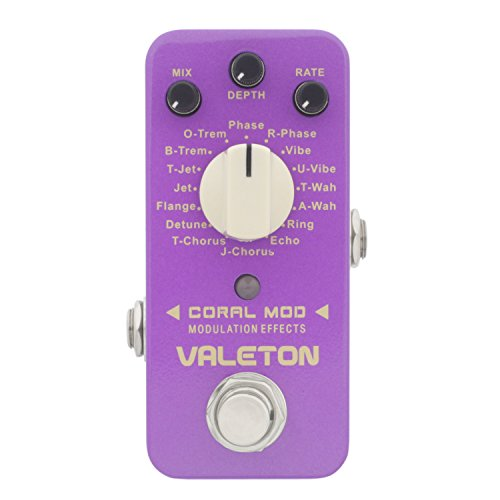 Valeton CME-1 Coral Mod 16 Types Digital Modulation Guitar Effect Pedal by Valeton