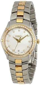 EBEL Women's 1216030 Sport Analog Display Swiss Quartz Two Tone Dress Watch