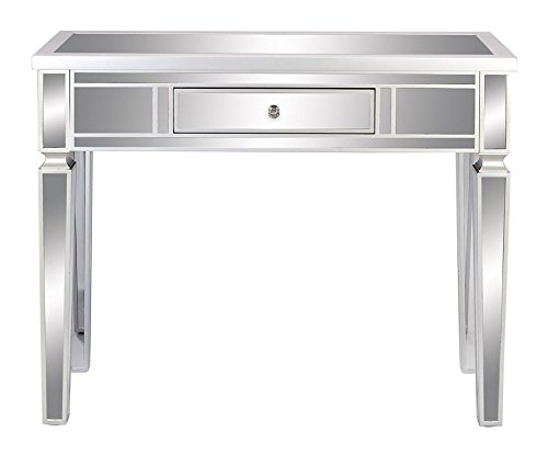 Deco 79 wood mirror console table 42 x 36 beachfront for Mirror 42 x 36